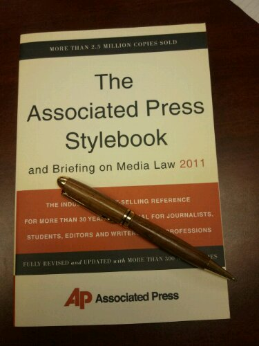 Get the AP Stylebook and use words like a pro