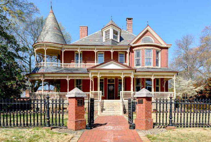 Historic College Park home featured in upcoming real estate auctions in Georgia and Florida