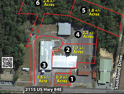 Newly renovated Opp major manufacturing plant, land selling in absolute auction