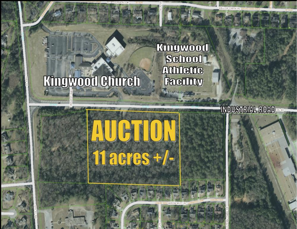 Commercial tract in Alabaster's dynamic medical district selling at auction
