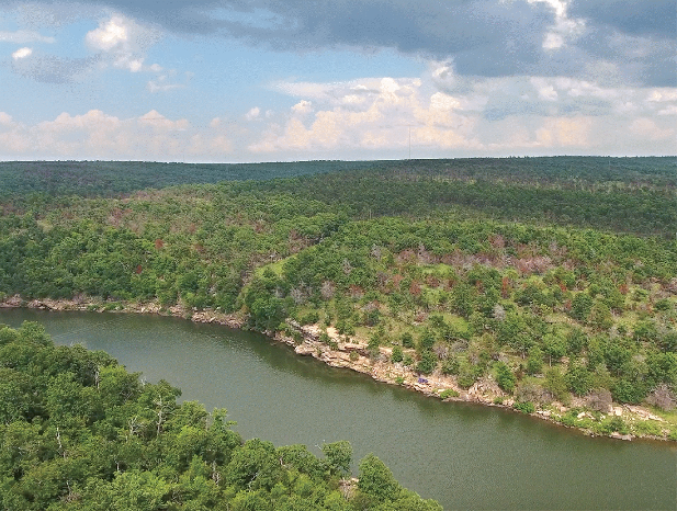 Major auction set for land around Oklahoma's Eufaula Lake, Piney Creek