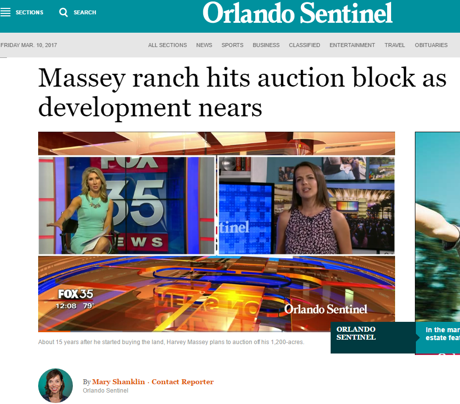 Major Orlando story on upcoming event for NewMediaRules client