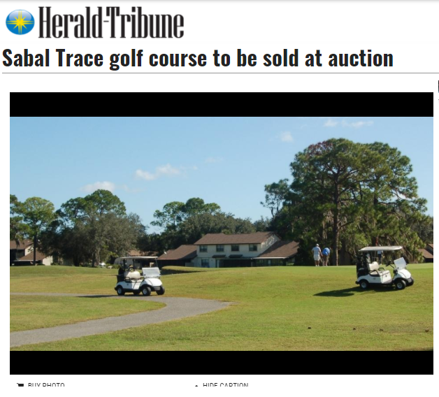 Sarasota Herald-Tribune story on upcoming Tranzon auction