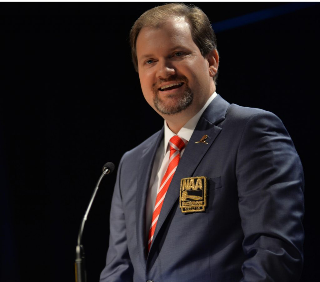 Tranzon's Tim Mast elected vice president of National Auctioneers Association